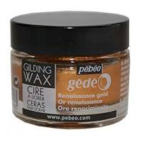 Pebeo Gilding Wax Renaissance Gold - 30ml pot