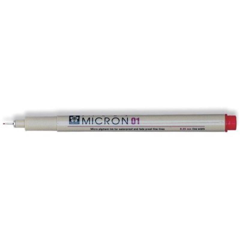 Fineliner Rot 0,25 mm Pigma Micron 01 Sakura